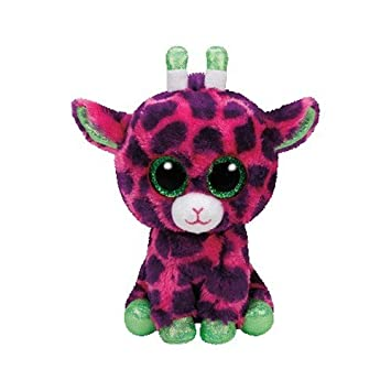 Ty Jirafa Peluche, Juguete, Color Rosa/Verde, 15 cm (United Labels