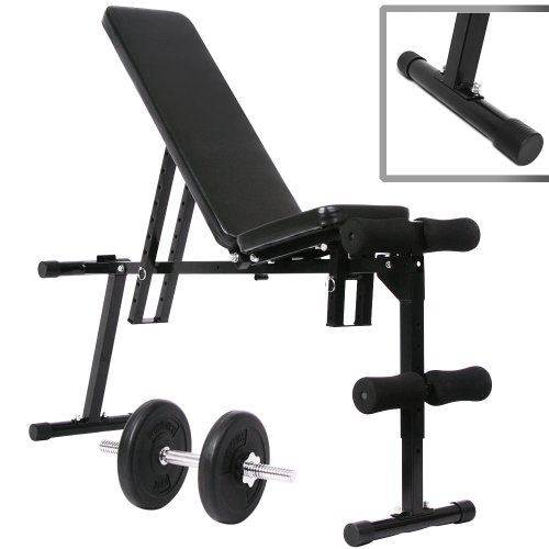 Physionics Banc De Musculation Inclinable Appareil Fitness