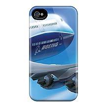 Shockproof Hard Cell-phone Case For Iphone 6 (pbK8139avTm) Custom HD Airplane Boeing Skin