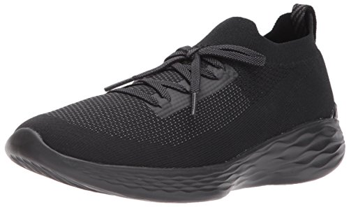 Skechers Performance Frauen You-Shine Sneaker Schwarzgrau