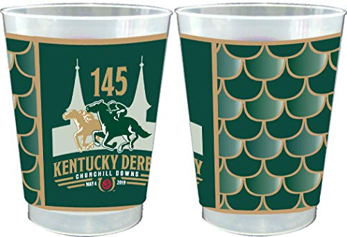 Westrick 145th (2019) Kentucky Derby 10 oz. Frosted Cups - 25/pkg