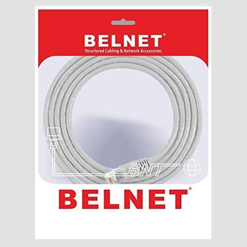 Cable Length: 150cm, Color: Grey ShineBear BELNET RJ45 Cat5e Ethernet Cable UTP Network LAN Cable Cat 5 RJ45 Patch Cord 1m 2m 3m 5m 10m 20m for PS Computer Router Cable