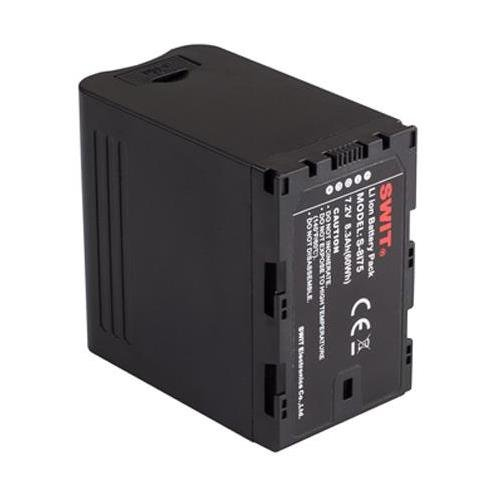 SWIT Electronics S-8I75 60Wh 8.3Ah Li-Ion Battery with 7.2V Pole DC Output & USB Charging Port for JVC HM600/650, LS300 and HMQ10 Camera