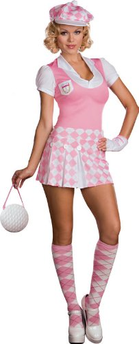 Caddy Shack Cutie Sexy Golf Costume Size Large
