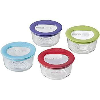 Pyrex 8 Piece Ultimate Food Storage Set, Clear