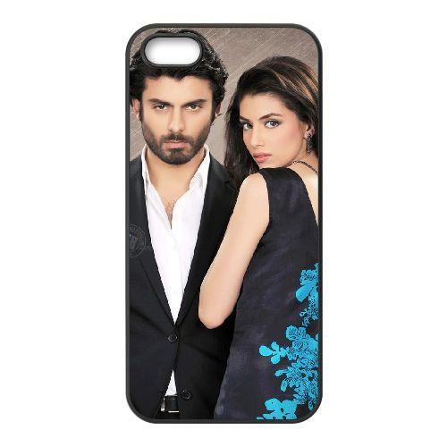 Fawad Khan 004 coque iPhone 4 4S cellulaire cas coque de téléphone cas téléphone cellulaire noir couvercle EEEXLKNBC25021