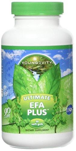 Efa 90 Gels - Ultimate EFA Plus by Youngevity, 90 soft gels