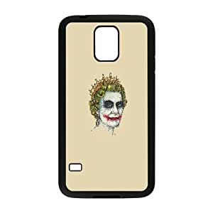 The Queen With Joker Makeup Funny Samsung Galaxy S5 Cell Phone Case Black Gift pjz003_3401402