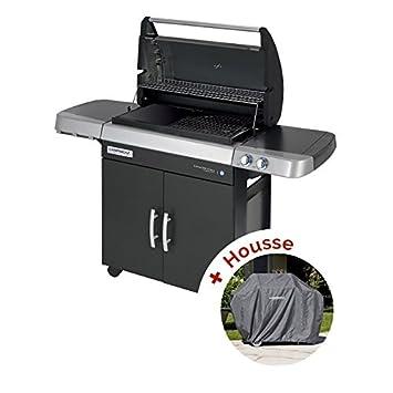 Pack barbacoa Gas Campingaz 3 Series RBS LD Vario – Rejilla Culinary y plancha hierro fundido