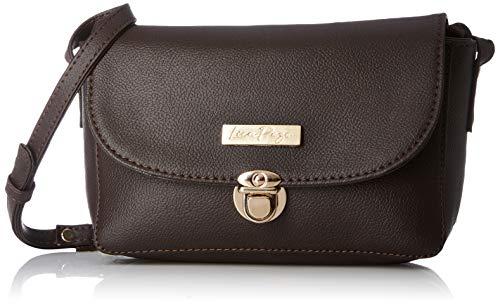 - Lica Pezo Women's Sling Bag (Brown)