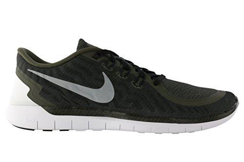 crg Noir Blanc De Homme black Print Khaki Slvr 0 Sport Nike 5 Pour Free wht Chaussures Rflct Gris wvn74P