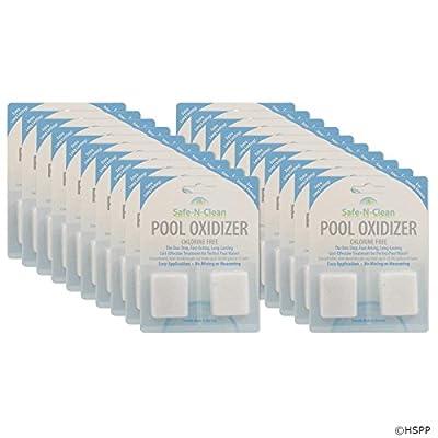 Basal Chemical Pool Oxidizer, Safe-n-Clean, Qty 20