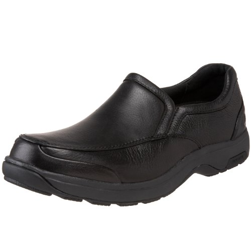 (Dunham Men's Battery Park Slip On,Black,10 6E US)