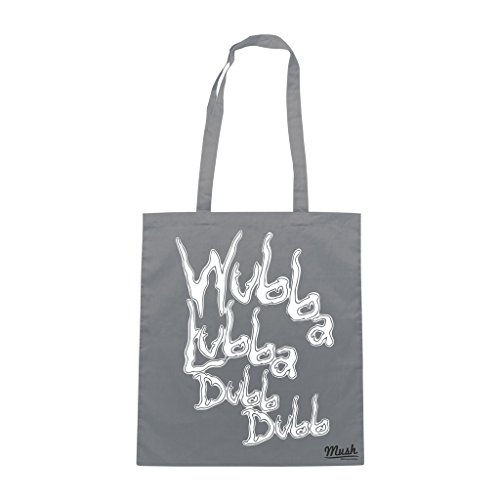 Borsa RICK&MORTY WUBBA LUBBA DUB DUB - Grigio - CARTOON by Mush Dress Your Style