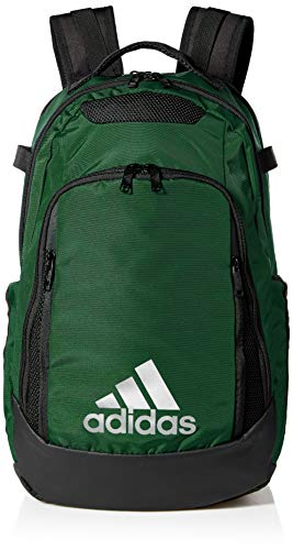 adidas 5-Star Team Backpack, Dark Green, One Size