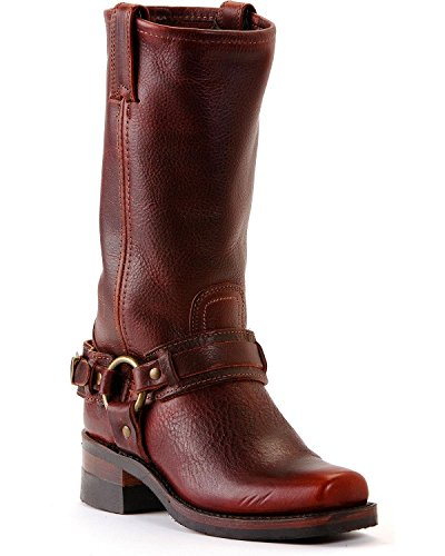 Image of FRYE Men's Belted Harness 12R Boot Square Toe - 87250-Ctw