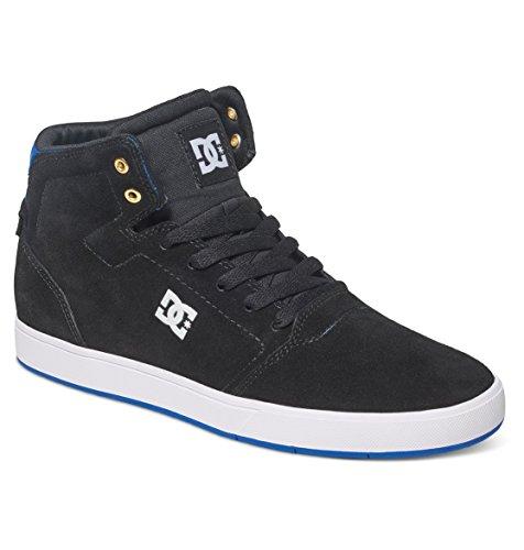 DC Junge Männer Crisis Hohe Cupsole Schuh, EUR: 40.5, Black/Blue 2