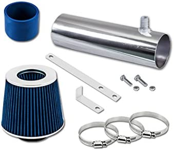 Velocity Concepts Blue Short Ram Air Intake Kit 5.7L V8 FILTER 94-96 For Chevrolet Impala SS Caprice 4.3L
