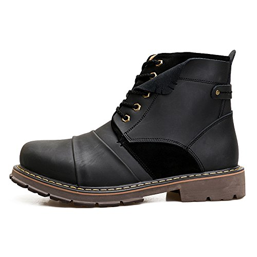 ENLEN&BENNA Men's Work Boots Fashion Casual Boot Motorcycle Boots Ankle Boots Dress Boots Combat Boots Cap Toe by ENLEN&BENNA (Image #6)