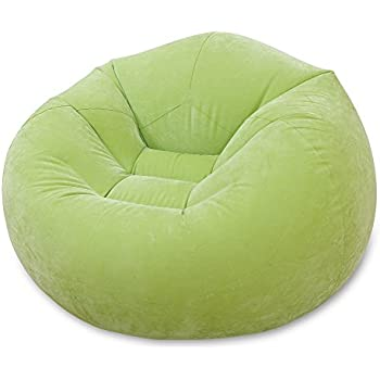 Good Intex Green Inflatable Beanless Bag Chair