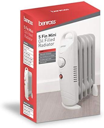 Benross Oil Filled Radiator ~ 5 Fin ~ 500w ~ 41640