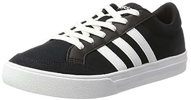 adidas Men's VS Set Shoes, Core Black/Footwear White/Footwear White, 7.5 US (7.5 AU)