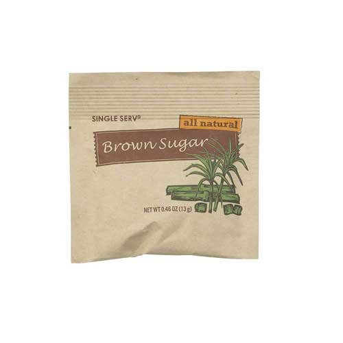 Single Serv Brown Sugar Packet, 13 Gram -- 96 per case. by Diamond Collection (Image #5)