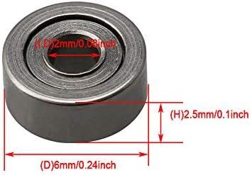 Bearing 2x6x2.5 Shielded Ball Bearings Pack Kit 10
