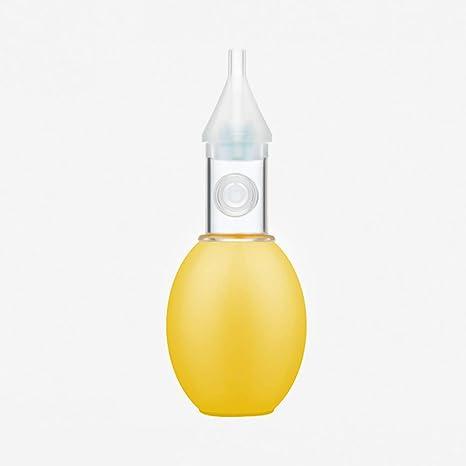 Jenify Aspirador Nasal del bebé Aspirador de la Nariz, Limpiador no tóxico de la Nariz del Bulbo del silicón, Regalo limpiable y Reutilizable de la Ducha del bebé,Yellow: Amazon.es: Deportes y aire