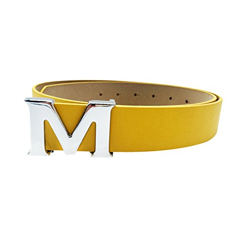 yellow belt buckle - 7