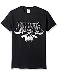 FEA Mens Danzig Skull & Logo Mens Regular T-Shirt T-Shirt