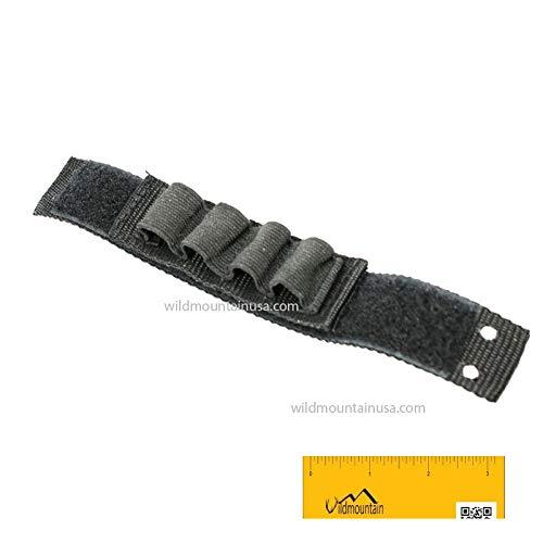 Mt Sunrise Shotgun Forend Strap Kit for Mossberg w/ 4 Shells Holder with Free Magnet (Shotgun Pump Strap)