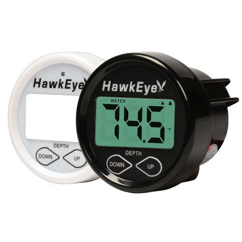 HawkEye D10DX.01T In-Dash Depth Sounder with Air and Water...