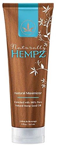 Naturally Hempz, Natural Maximizer, Tanning Lotion 9 Ounce