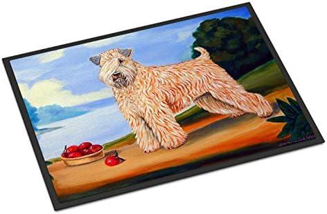 Caroline s Treasures 7509MAT Wheaten Terrier Soft Coated Indoor Outdoor Mat 18×27 Doormat, 18H X 27W, Multicolor