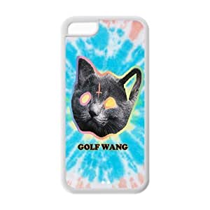 Mystic Zone Ofwgkta Odd Future OF Earl Golf Wang Back Cover Case for Apple iPhone 5C -(Black and White) - MZ5C01080