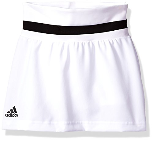 adidas Youth Girls Tennis Club Skirt, White, ()