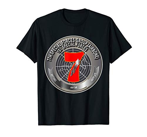 7th Special Forces Group Airborne, Any Time Any Place Shirt