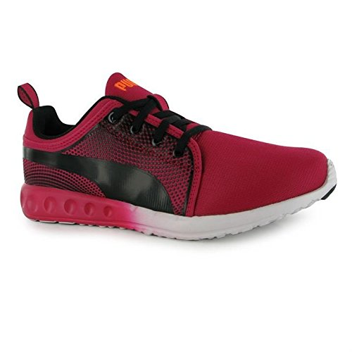 Basket negro Negro en Puma color Negro relieve Carson AqAzr