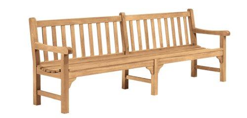 - Oxford Garden - Essex Collection 8-Foot Shorea Bench | 100% Tropical Shorea Hardwood Outdoor Furniture