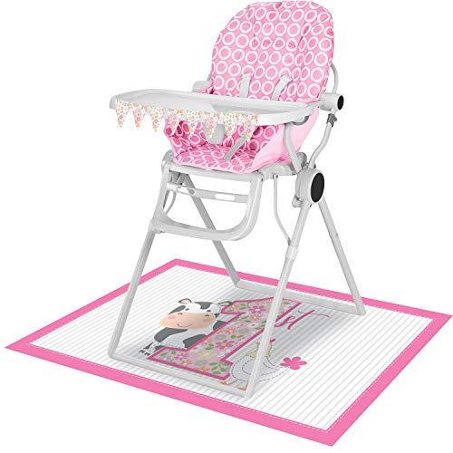 Farmhouse 1st Birthday Girl High Chair Kit, 1 ct