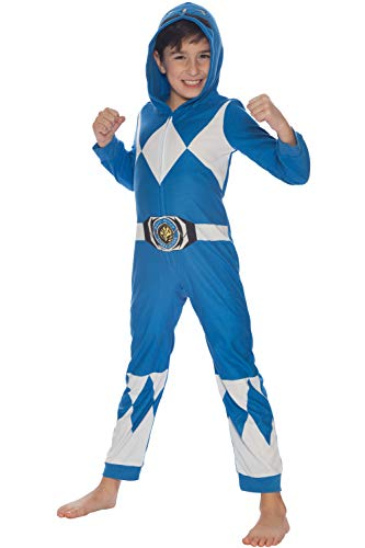 Power Rangers Blue Ranger Critter Costume Pajama, Blue, 2T ()