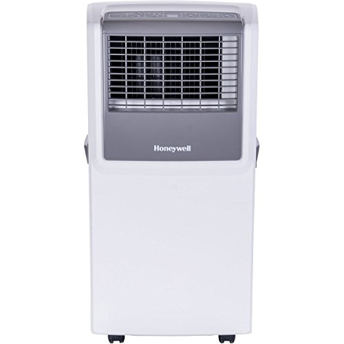 MP Series 8,000 BTU Portable Air Conditioner with Front Grille and Remote Control in White/Gray