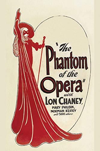 ArtParisienne The Phantom of The Opera No. 3 12x18-inch Canvas Print ()