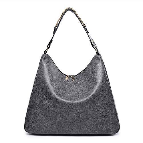 spalla borse casual borsa solido in 2018 vendita crossbody Mzdpp moda da morbida vintage signore tote colore femminile pelle donna grigio calda IUxqqaSwz