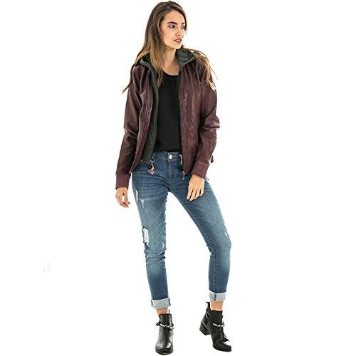 VELEZ Women Genuine Colombian Leather Biker Jacket | Chaqueta de Cuero de Mujer at Amazon Womens Coats Shop