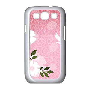 the Flower Girl Samsung Galaxy S3 Cases, Case for Samsung Galaxy S3 I9300 Shock Absorbing Okaycosama - White