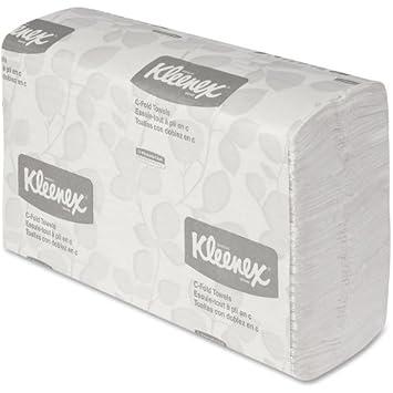Caso Al por mayor de 5 – Kimberly-Clark Kleenex Premium blanco C-fold