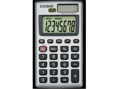 Casio HS-8V Hand-Held Solar Calculator from Casio