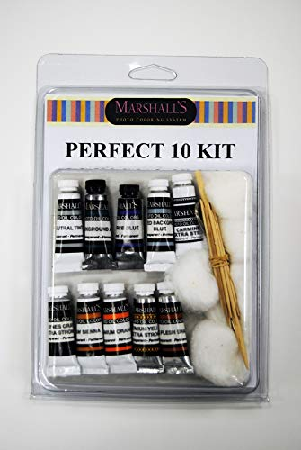 Marshall's Perfect 10 Kit - 10 Assorted 2'' Tubes